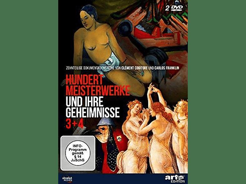 Hundert Meisterwerke und ihre Geheimnisse 3+4 [DVD]