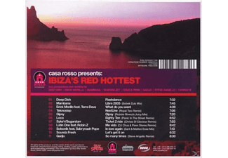 VARIOUS - ibiza's red hottest  - (CD)
