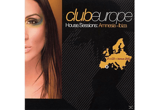 VARIOUS - club europe house sessions:amnesia ibiza  - (CD)