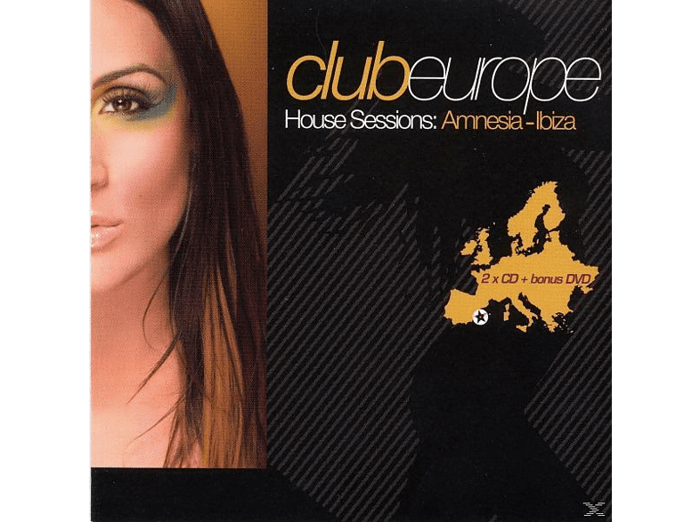 VARIOUS - club europe house sessions:amnesia ibiza [CD]