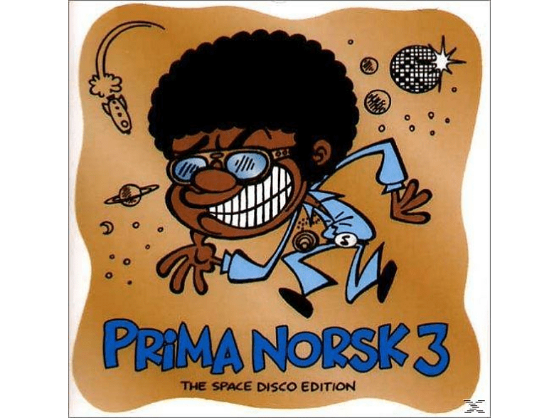 VARIOUS - Prima Norsk 3 - The Space Disco Edition [CD]