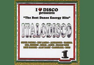 VARIOUS - I Love Italo Disco Energy Vol.1  - (CD)