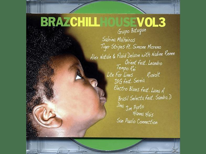VARIOUS - brazchill house vol.3 [CD]