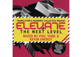 various/phil york & kevin energy - elevate-the next level  - (CD)
