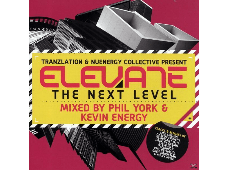 various/phil york & kevin energy - elevate-the next level [CD]