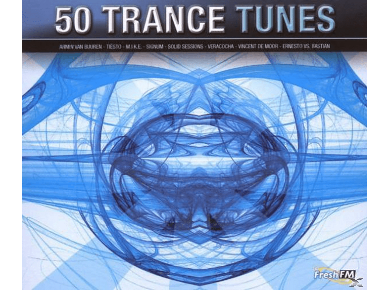 VARIOUS - 50 trance tunes [CD]