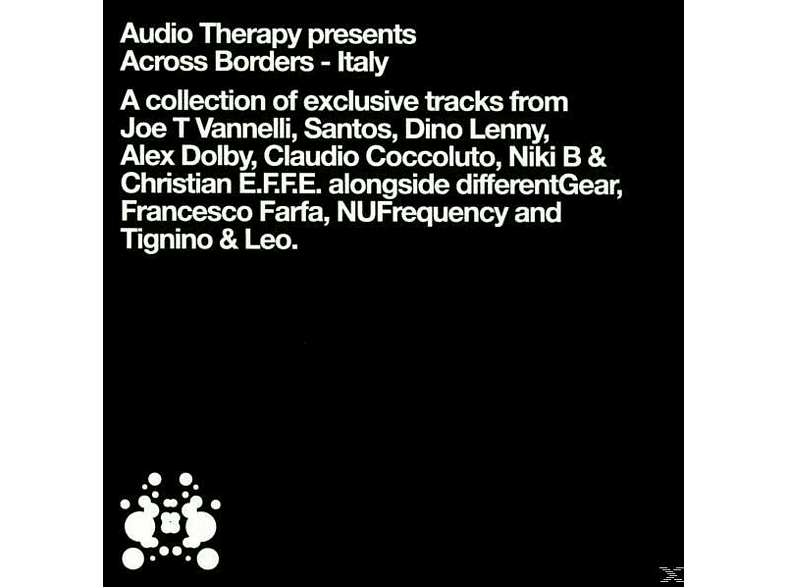 VARIOUS - audio therapy-across borders-italy [CD]