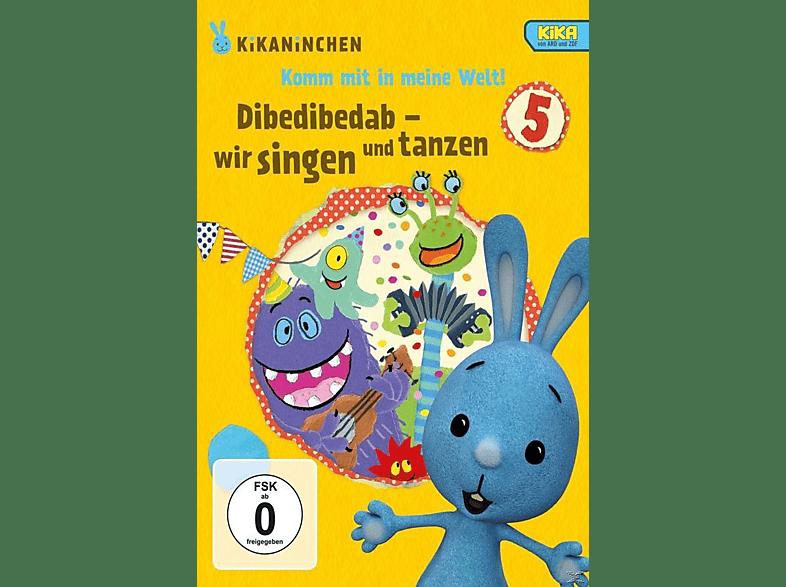 Kikaninchen: Dibedibedab - Wir singen und tanzen [DVD]