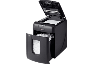 REXEL Auto+ 130X, Automatische Papierzuführung, Partikelschnitt, Sicherheitsstufe P-4 Aktenvernichter, Schwarz