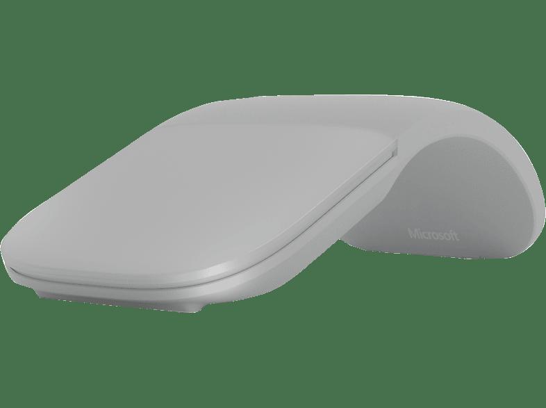 MICROSOFT Surface Arc Mouse Funkmaus, Hellgrau