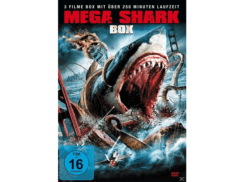 Mega Shark 1-3 Box [DVD]