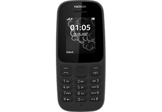NOKIA 105 Dual SIM - Black New