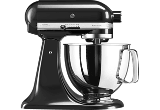 Robot de cocina - Kitchen-Aid 5KSM125EOB, Negro