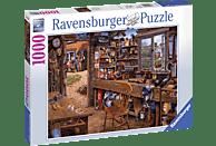 RAVENSBURGER Opas Schuppen Puzzle, Mehrfarbig