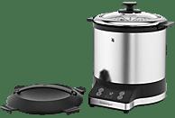 WMF 04.1526.0011 KÜCHENminis® Reiskocher (220 Watt, Edelstahl/Schwarz)