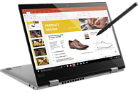 LENOVO Yoga 720, Convertible mit 12.5 Zoll Display, Core i5 Prozessor, 8 GB RAM, 128 GB SSD, HD Graphics 620, Platinum Silber