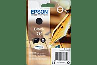 EPSON Original Tintenpatrone Schwarz (C13T16214012)