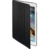 HAMA Fold Clear Tablethülle, Bookcover, Schwarz