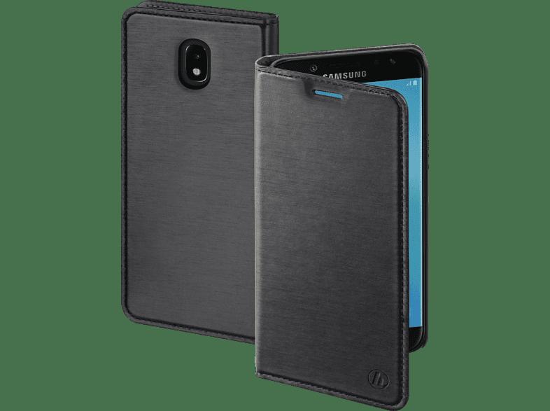 HAMA Slim , Bookcover, Samsung, Galaxy J7 (2017), Polyurethan, Dunkelgrau
