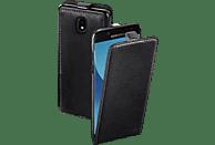 HAMA Smart Case , Flip Cover, Samsung, Galaxy J5 (2017), Leder (Obermaterial), Schwarz