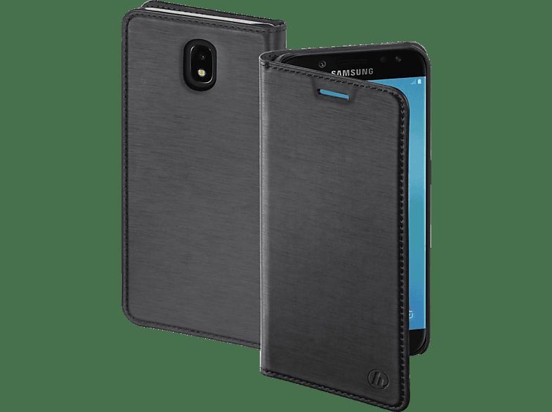 HAMA Slim , Bookcover, Samsung, Galaxy J5 (2017), Polyurethan, Dunkelgrau