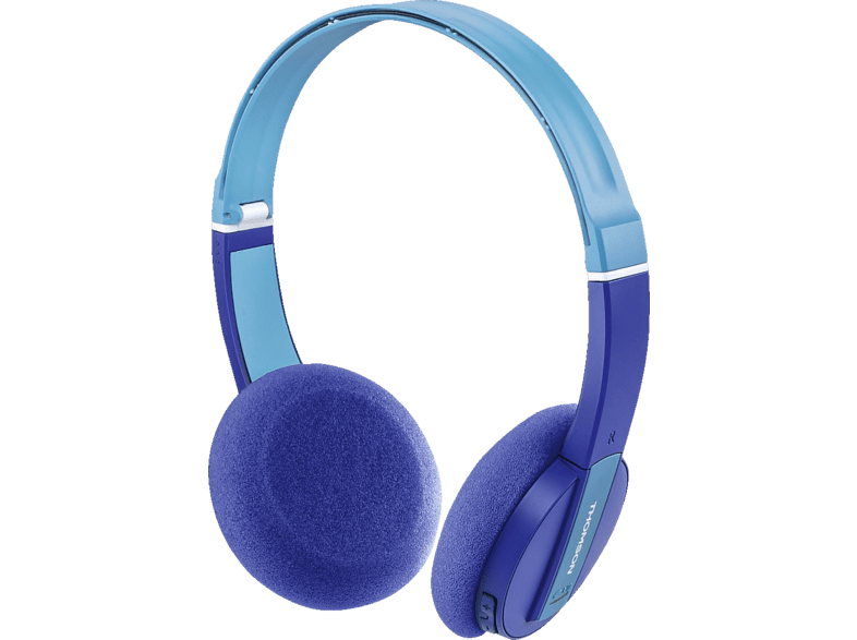 THOMSON WHP-6017, On-ear Kopfhörer Bluetooth Blau