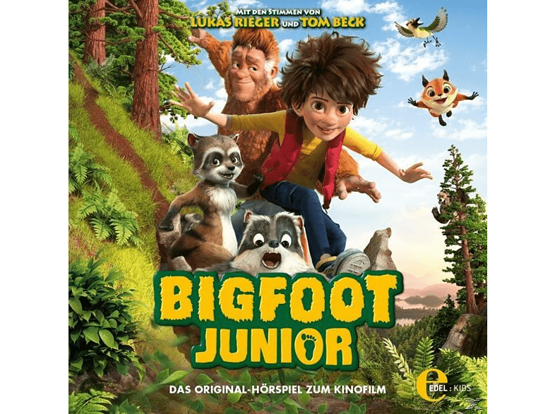 Bigfoot Junior - Das Original-Hörspiel z.Kinofilm - (CD)