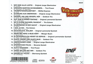 VARIOUS - Volksmusik Powewr  - (CD)