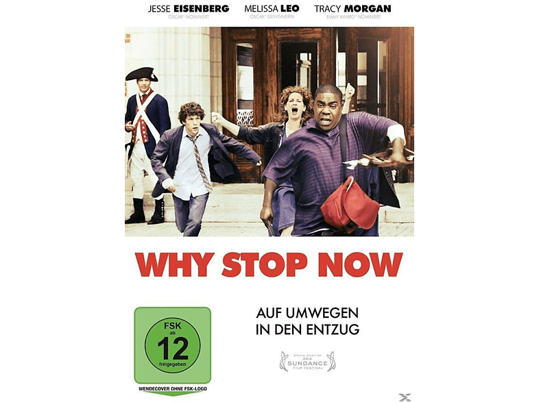 Why Stop Now [DVD]