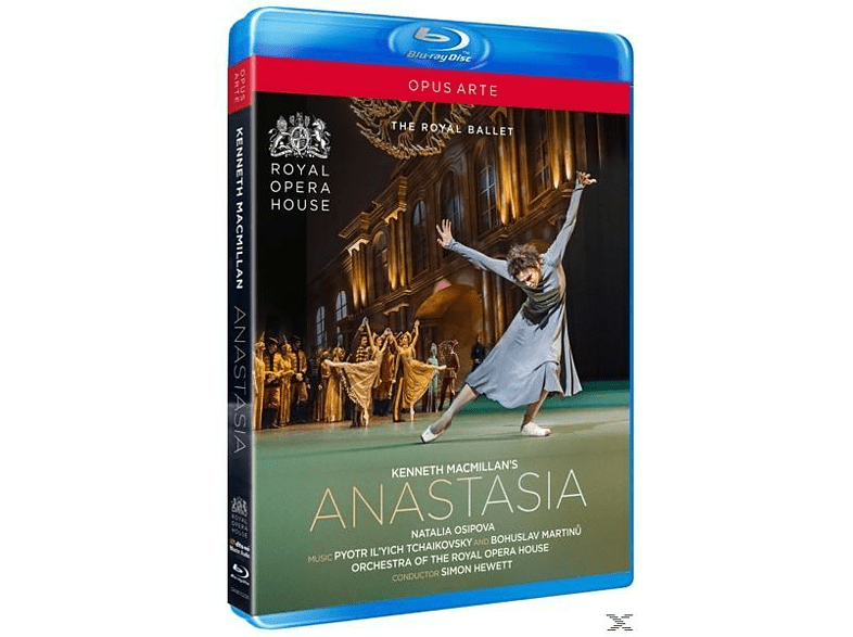 Royal Opera House Royal Ballet - ANASTASIA [Blu-ray]
