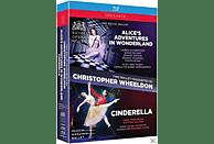 THE ROYAL BALLET/DUTCH NATIONAL BAL - Alice's Adventures in Wonderland/Cinderella [Blu-ray]