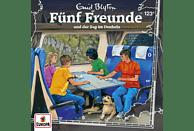 Fünf Freunde - 123/und der Zug im Dunkeln - (CD)