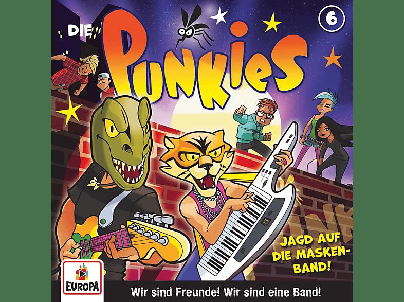 Die  Punkies - 006/Die Jagd nach der Masken-Band - (CD)