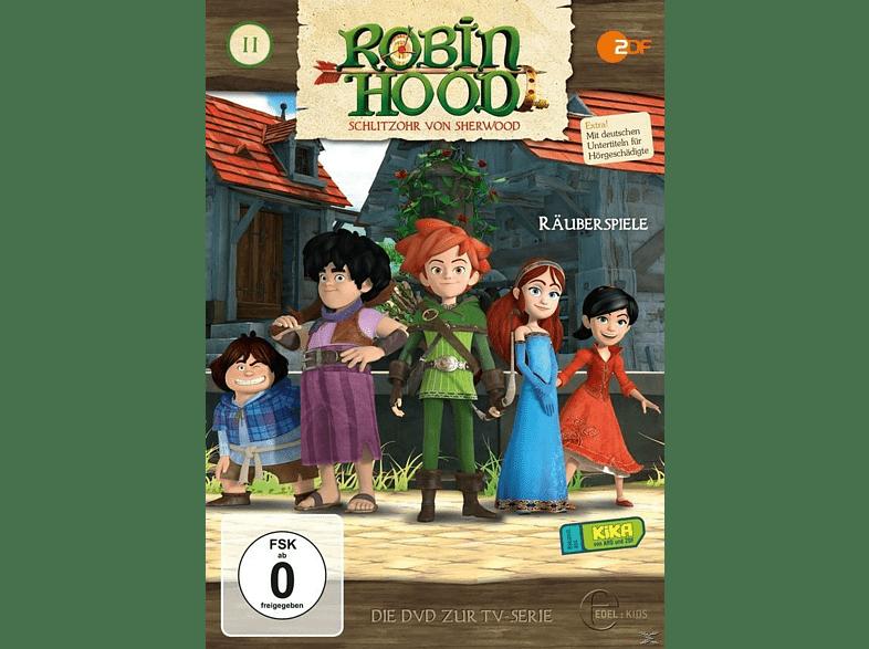 Robin Hood - Schlitzohr Von Sherwood - 11 [DVD]