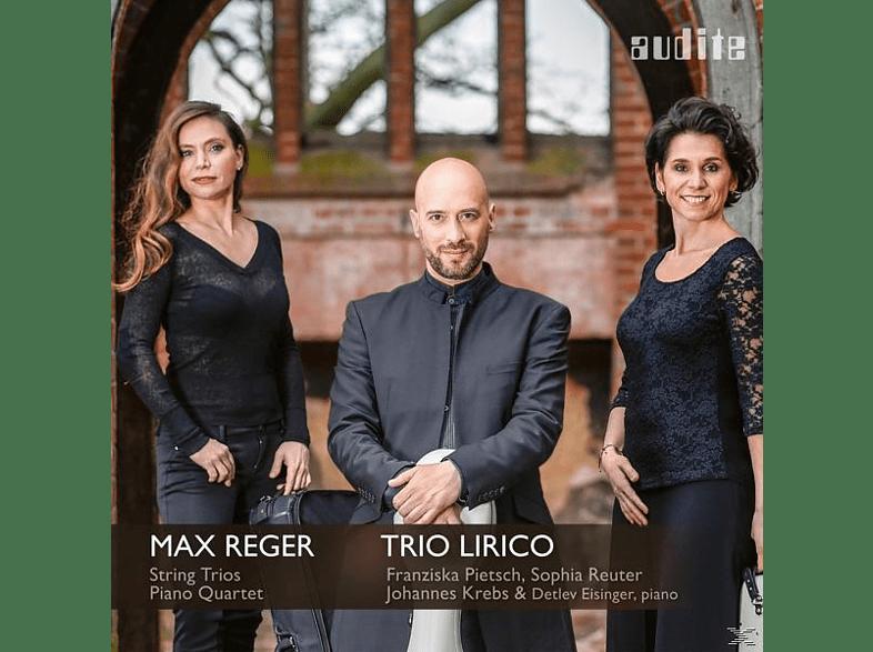 Detlev Eisinger, Trio Lirico - String Trios & Piano Quartet [CD]