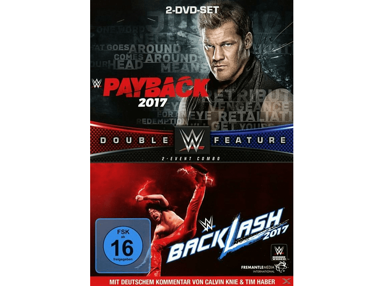 Payback/Backlash 2017 (Double Feature) [DVD]