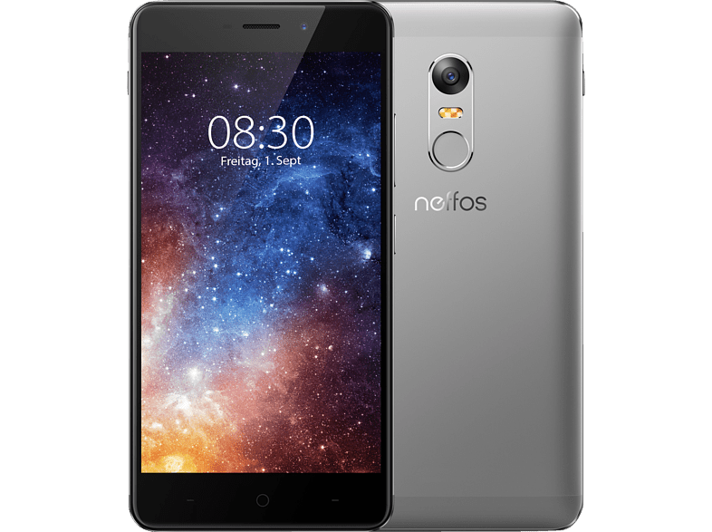 TP-LINK Neffos X1 16 GB Cloudy Grey Dual SIM
