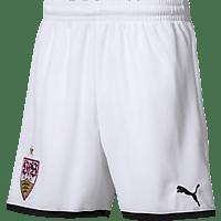 PUMA VfB Stuttgart Short, Weiß/Schwarz