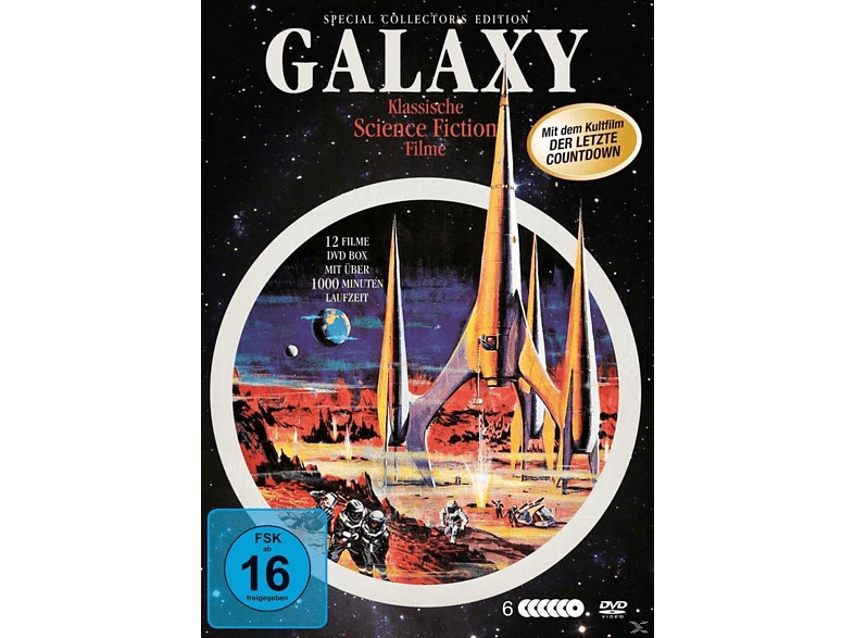 Galaxy Science-Fiction Classics Deluxe-Box [DVD]
