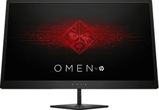 "Monitor gaming - HP OMEN 25, 24.5"" Full HD, 144Hz, LED, HDMI, USB, Negro (Jack Black)"