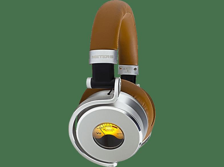 METERS M-OV-1, Over-ear Kopfhörer  Braun/Silber