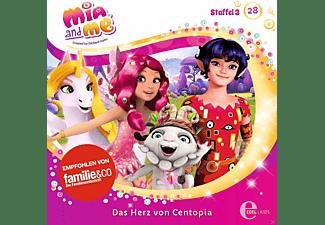 Mia And Me - Mia and Me 28: Das Herz von Centopia  - (CD)