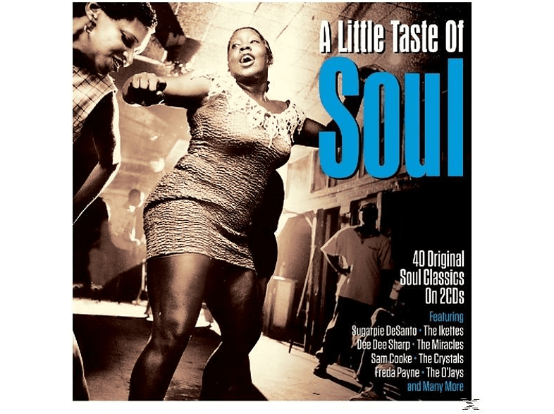 VARIOUS - A Little Taste Of Soul [CD]