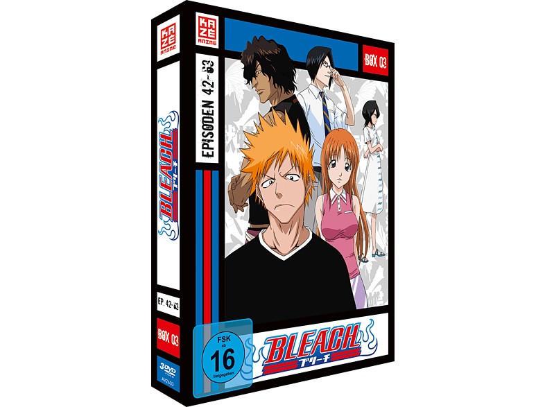 Bleach – die TV-Serie – 3 Box [DVD]