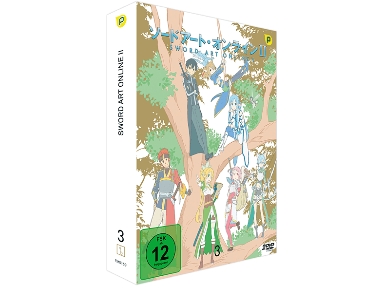 Sword Art Online II - 2. Staffel - Box 3  [DVD]