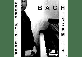 Georg Weidinger - Bach Hindemith  - (CD)