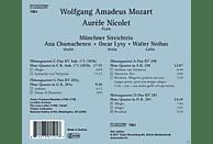 Münchner Streichtrio, Nicolet Aurele - Flötenquartette [CD]