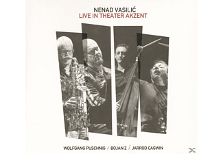 Nenad feat. Wolfgang Puschnig & Bojan Z J Vasilic - Live in Theater Akzent  - (CD)