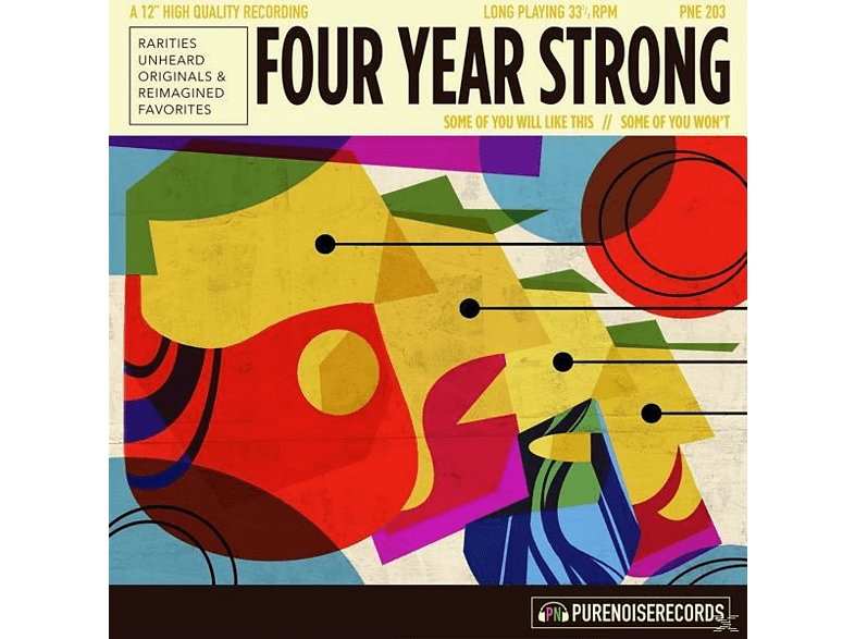 Four Year Strong - Some Of You Will Like This,Some Of You Won't (LP) [Vinyl]