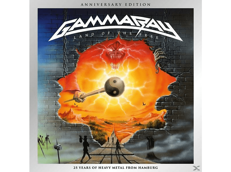 Gamma Ray - Land Of The Free (Anniversary Edition) [CD]